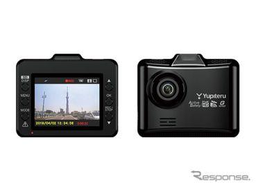 ユピテル SN-ST2200c 発売、夜間撮影に強い1カメラドラレコ