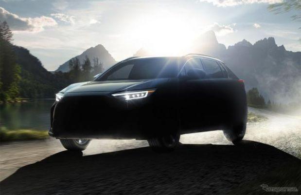 スバルの新型EV、その名は『ソルテラ』---2022年年央までに発売へ