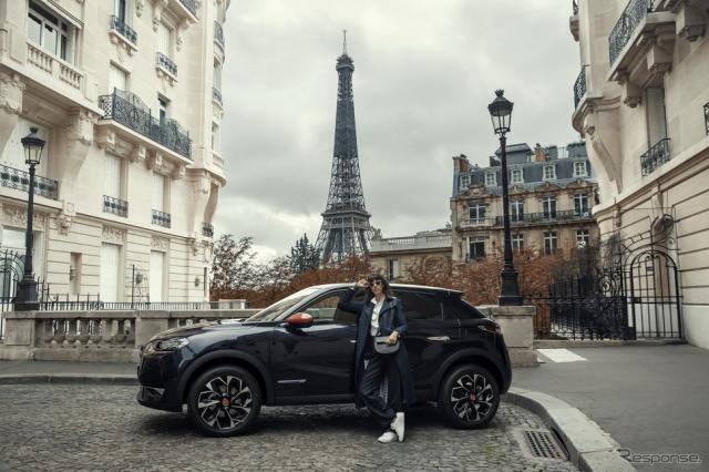 DS3 クロスバック の限定車「イネス・ド・ラ・フレサンジュ・パリ」《photo by DS》