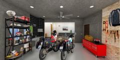 コバユリ監修、バイクと暮らすマイホーム「PRガレージライフ」 第1弾物件が横浜に誕生