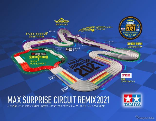 MAXサプライズサーキットREMIX 2021《図版提供 タミヤ》