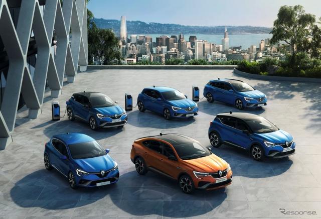 ルノーの新世代電動車「E-TECH」のラインナップ(参考)《photo by Renault》