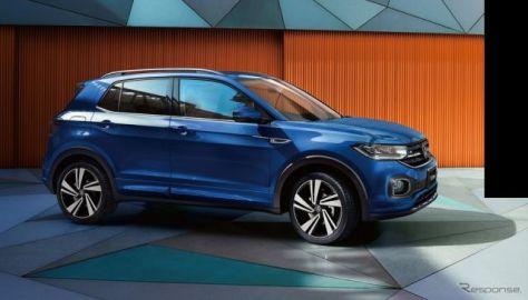 VW Tクロス、上級グレード「Rライン」追加 専用内外装に安全装備も充実