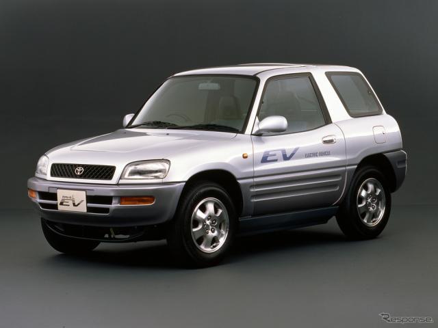 トヨタRAV4 EV《写真提供 トヨタ自動車》