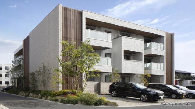 賃貸住宅 シャーメゾン(イメージ)《写真提供 パーク24》
