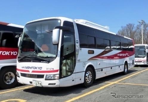 車両イメージ《図版提供 西東京バス》