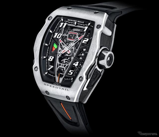 リシャール・ミル「RM 40-01 オートマティック トゥールビヨン マクラーレン スピードテール」《photo by Richard Mille》
