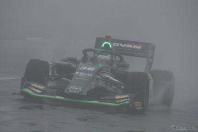 【スーパーフォーミュラ 第3戦】悪天候によりレース途中終了、ジュリアーノ・アレジが初優勝