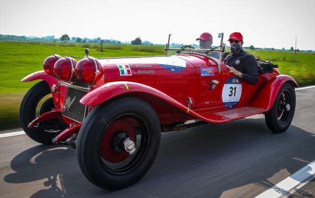 アルファロメオ 6C 1750 グランスポルト(2018年のミッレミリア)《photo by Alfa Romeo》