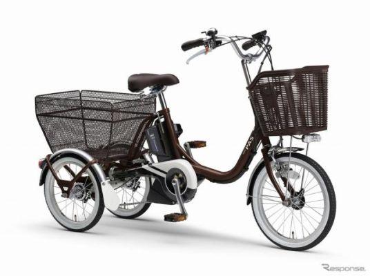 三輪電動アシスト自転車『PASワゴン』2021年モデル発売へ---アシスト力向上など