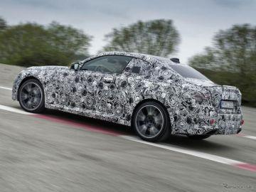 BMW 2シリーズクーペ 次期型に「M」、直6ターボは374馬力…プロトタイプの写真