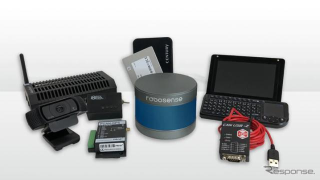 データ計測システム「RoboDataLogger」エントリーパッケージ《写真提供 ZMP》