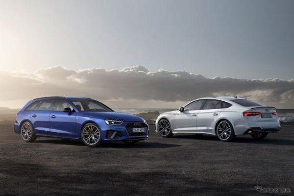 アウディ A4 と A5、2種類の「Sラインコンペティション」設定…2022年型を欧州発表