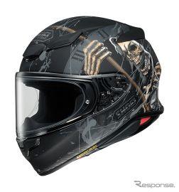 SHOEI Z-8 ヘルメット、「死神」を描いたグラフィックモデルを受注限定発売へ