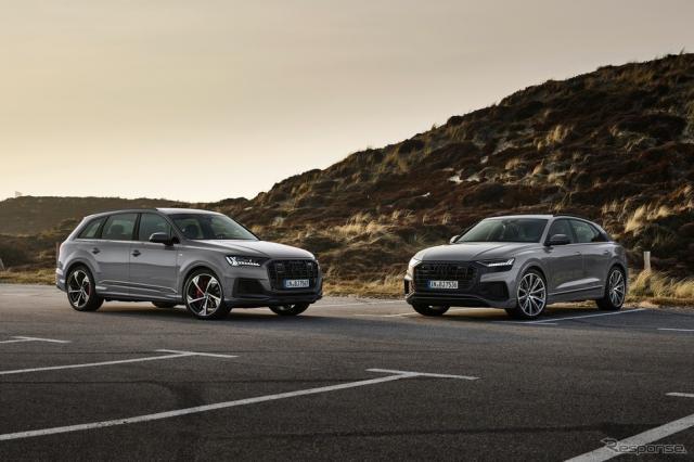 アウディ Q7 と Q8 の2022年モデルの「コンペティションプラス」《photo by Audi》