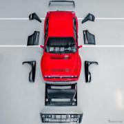 ランチアの名車『デルタHFインテグラーレ』、純正パーツを拡大…アルファロメオとフィアットも