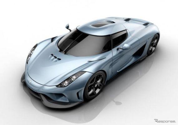 ケーニグセグの1500馬力PHVスーパーカー、『レゲーラ』…ロズベルグがモナコで試す