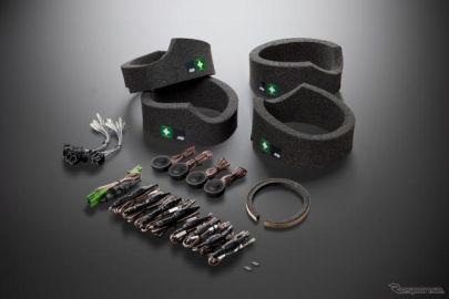 【メルセデスベンツ EQA】ソニックデザインのサウンドチューンアップ商品、純正アクセサリーに採用