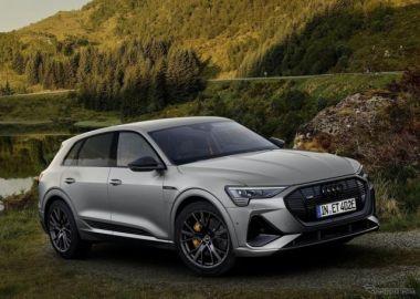 黒い e-tron、アウディが電動SUVに「Sラインブラック」設定…欧州