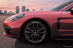 ポルシェ パナメーラ 改良新型、ネクセン N'FERA Sport を新車装着