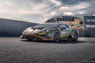 ランボルギーニ ウラカン のレーサー、「EVO2」に進化…将来の市販車のスタイリング要素を先取り