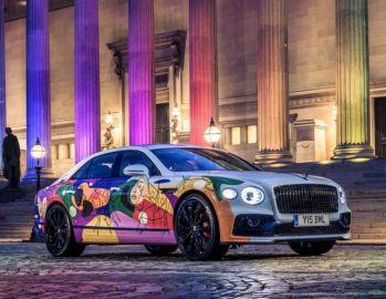 ベントレー フライングスパー 新型にアートカー、「ユニファイング・スパー」…多様性を表現