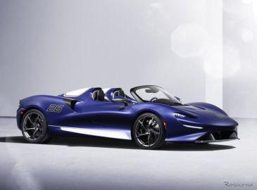 マクラーレンの最軽量ロードスター、『エルバ』にフロントウインドスクリーン装着車…欧州発表
