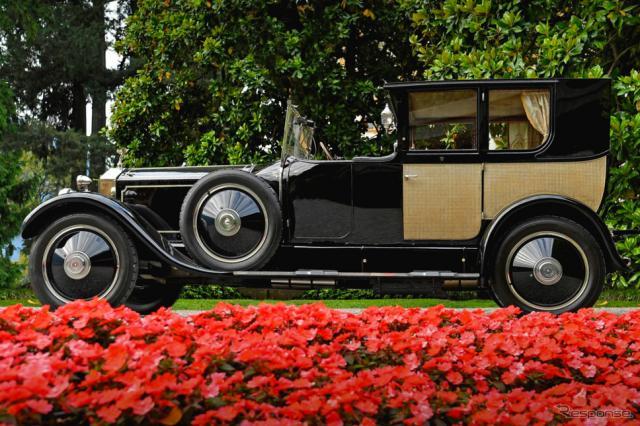 ロールスロイスのコーチビルドの歴史:ロールスロイス40/50HPファントム I ブローアム・ドヴィル(1926年)《photo by Rolls-Royce》