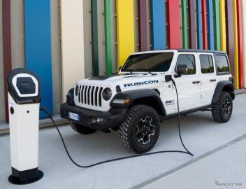 ジープ ラングラー 初のPHV、オフロード性能と環境性能を両立 6月に欧州で発売