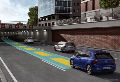 VW ポロ 改良新型、「トラベルアシスト」で部分自動運転が可能に…欧州Bセグ初