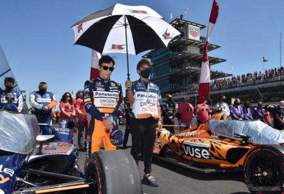 【第105回インディ500】首位走行シーンもあった佐藤琢磨、しかし無念の14位…終盤の燃費作戦へのスイッチは奏功せず