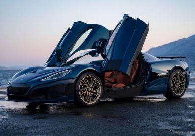 リマックが新型ハイパーEV、『ネヴェーラ』を発表…0-96km/h加速は1.85 秒
