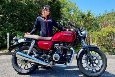 【ホンダ GB350 試乗】単気筒エンジンの鼓動感がたまりません!…小鳥遊レイラ