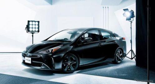 トヨタ プリウス、ブラックカラーの特別仕様車発売…一部改良でディスプレイオーディオ標準装備