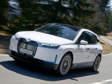 BMWの電動SUV『iX』、11月に世界市場で発売へ