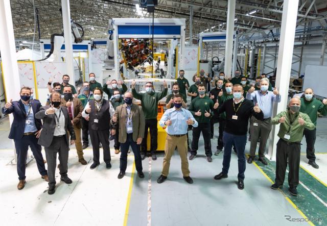 ロータスカーズの英国ヘセル工場で開始されたロータス・エミーラのプリプロダクション《photo by Lotus Cars》
