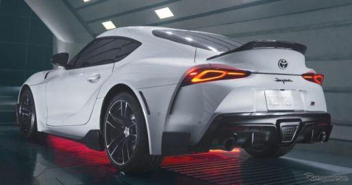 トヨタ スープラ にダックテールスポイラー、「A91-CF」発表…北米600台限定