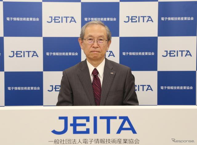 JEITAの網川智会長《写真提供 JEITA》