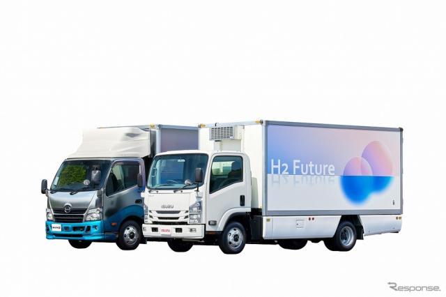 燃料電池(FC)トラック《写真提供 トヨタ自動車》