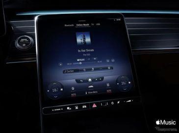 メルセデスベンツ、「Apple Music」車載化…新世代インフォテインメント「MBUX」に