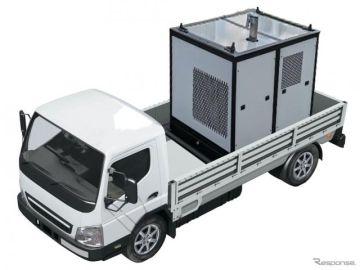 モリタ、「災害リスク対策推進展九州」に出展へ…車載できる小型排水ポンプなど