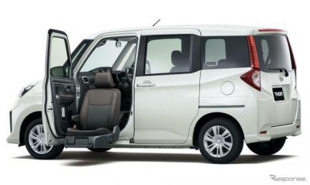 ダイハツ トール、昇降シート車を新設定…小型車追加で福祉車両を拡充