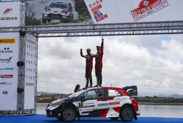 【WRC 第5戦】王者オジェが今季3勝目、これでトヨタは5戦4勝…2戦連続4位の勝田貴元がランキング5位に上昇