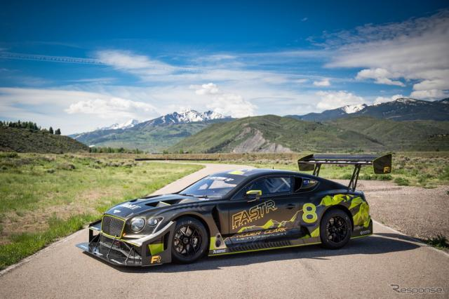 ベントレー・コンチネンタル GT3 パイクスピーク《photo by Bentley》