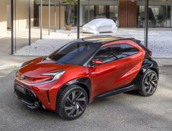 トヨタの欧州Aセグ向け新型車、「GA-B」車台採用…開発と生産は欧州で