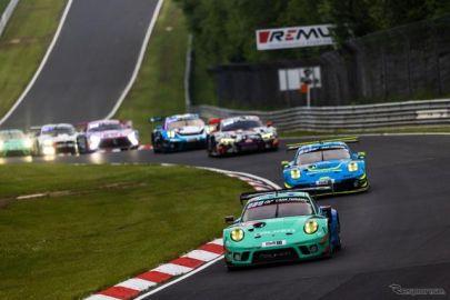 ファルケンモータースポーツ、ポルシェ 911 GT3Rは4位・9位で完走…ニュル24時間