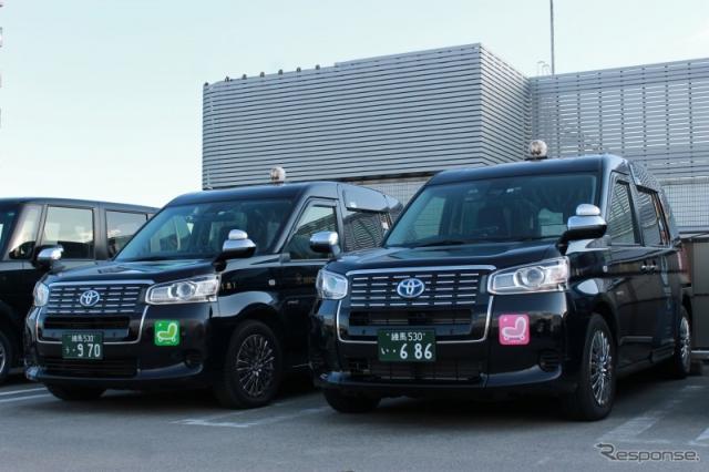 日本交通のタクシー車両(イメージ)《写真提供 日本交通》