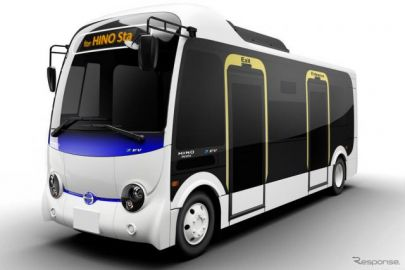 日野自動車、小型電気バス『ポンチョZ EV』を市場投入 2022年春