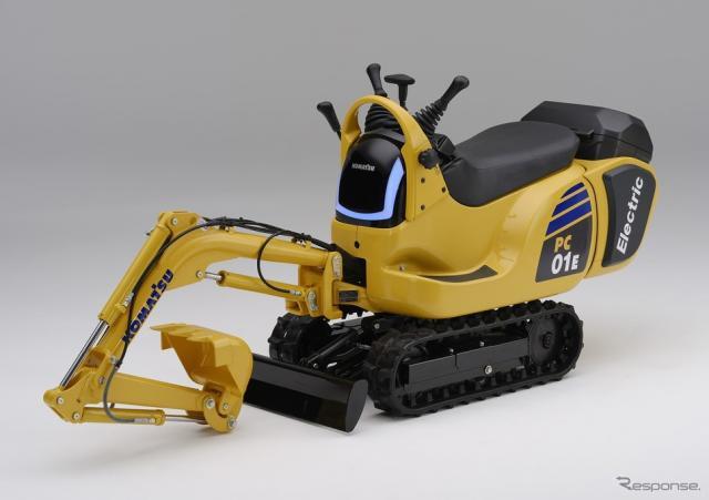 ホンダ モバイルパワーパック搭載のマイクロショベルPC01(試作車)《写真提供 本田技研工業》