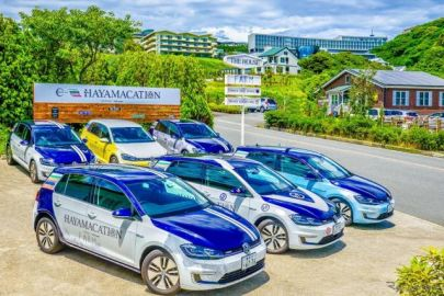 VW、葉山の e-ゴルフ 無料貸出プログラム再開…密を避けた移動手段 6月11日より
